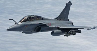5 Rafale aircraft from France to India will be landing at Ambala airbase