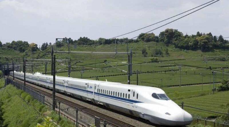 Bullet trains will run on seven routes in the country