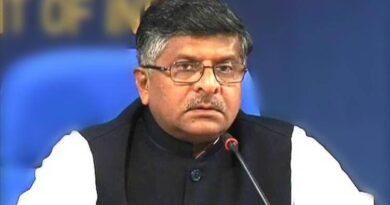 Cabinet minister Ravi Shankar Prasad went to home solation