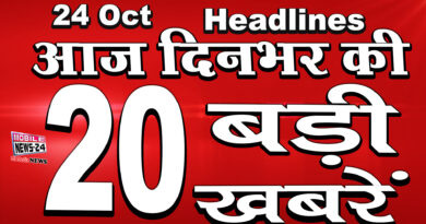dinbhar ki badi khabrein 24th October 2020