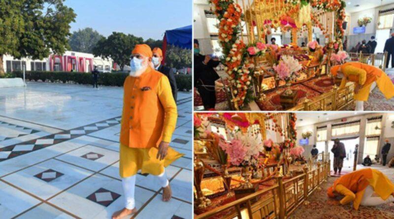 Suddenly this morning PM Modi reached Gurudwara Rakab Ganj Sahib