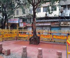 Lord Hanuman's temple was demolished in presence of police