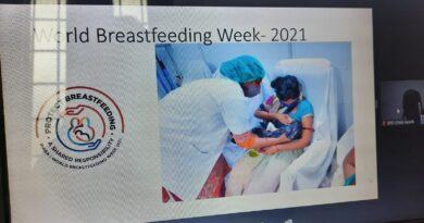 स्तनपान को बढ़ावा देने के लिए सभी स्वास्थ्यकर्मी लें शपथ- डॉ. बी.पी.राय